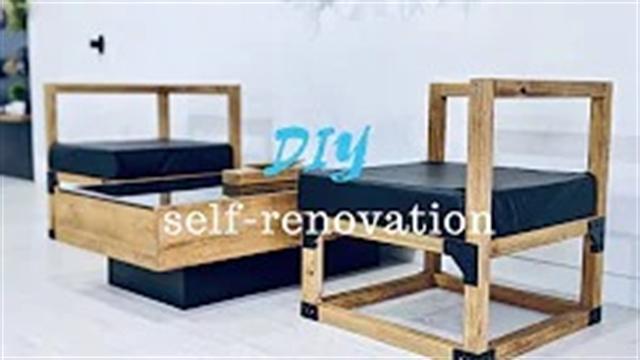 آموزش ساخت صندلی راحتی یکنفره در طراحی داخلی