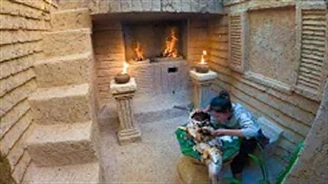 آموزش ساخت خانه زیرزمینی جنگلی