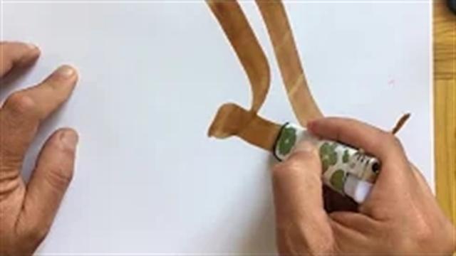 آموزش خطاطی حرفه ای با استفاده از لبه فندک